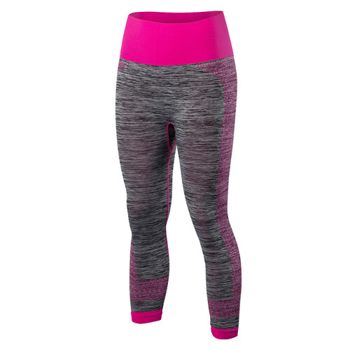 Wanita Sport Lari Celana Gimnasium Tights Legging Kebugaran Cepat Kering Celana Elastis Capris Yoga Celana 5081-Internasional