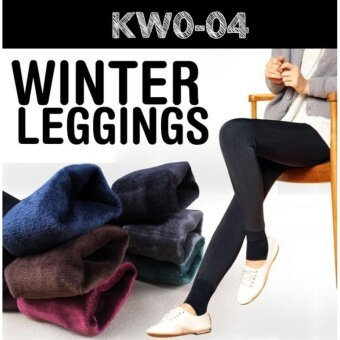 Harga Women Winter Leggings / keep warm/ inner wear/ Women pants /Plus size - BLACK