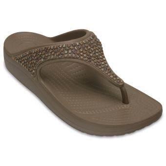 Women's Crocs Sloane Embellished Flip Mrm