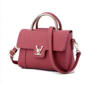 Women's Fashion Casual Shoulder Bag(Red)