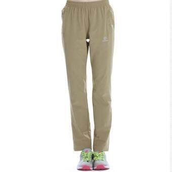 Women's Outdoor Breathable Hiking Mountain Quick Dry Pants ElasticSoft Trousers Spring Summer - Khaki