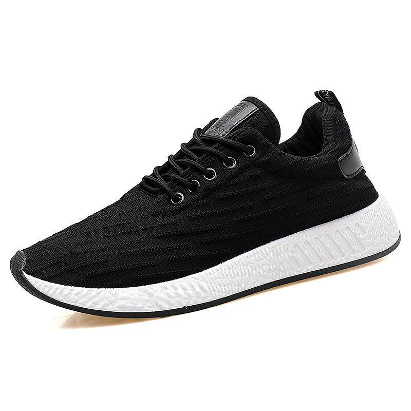 Harga Termurah Yf Men Breathable Sneakers Comfortable Soft Leisure Shoes Flats Board Shoes Intl