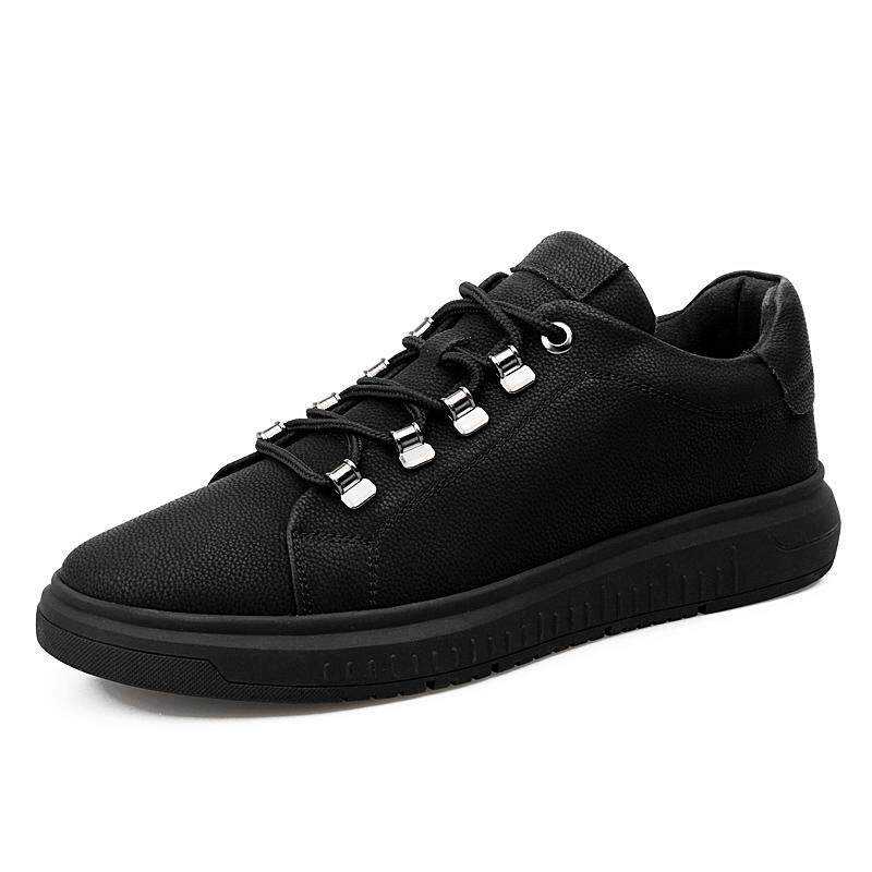 Tips Beli Yf Men High Quality Sneakers Comfortable Leisure Leather Shoes Flats Board Shoes Plus Size Intl Yang Bagus