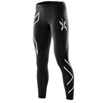 YJS Women 2Xu Professional Pants Trousers Compression Speed DryNylonstretch Fitness Pants (Silver)