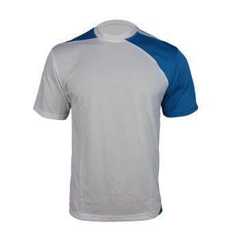 YLC ROUNDNECK 12119-WHITE/BLUE