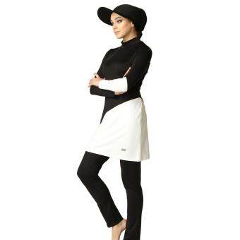 Young Women Muslim Swimwear Beach Bathing Suit Muslimah Islamic Swimsuit Swim Surf Wear Burkini