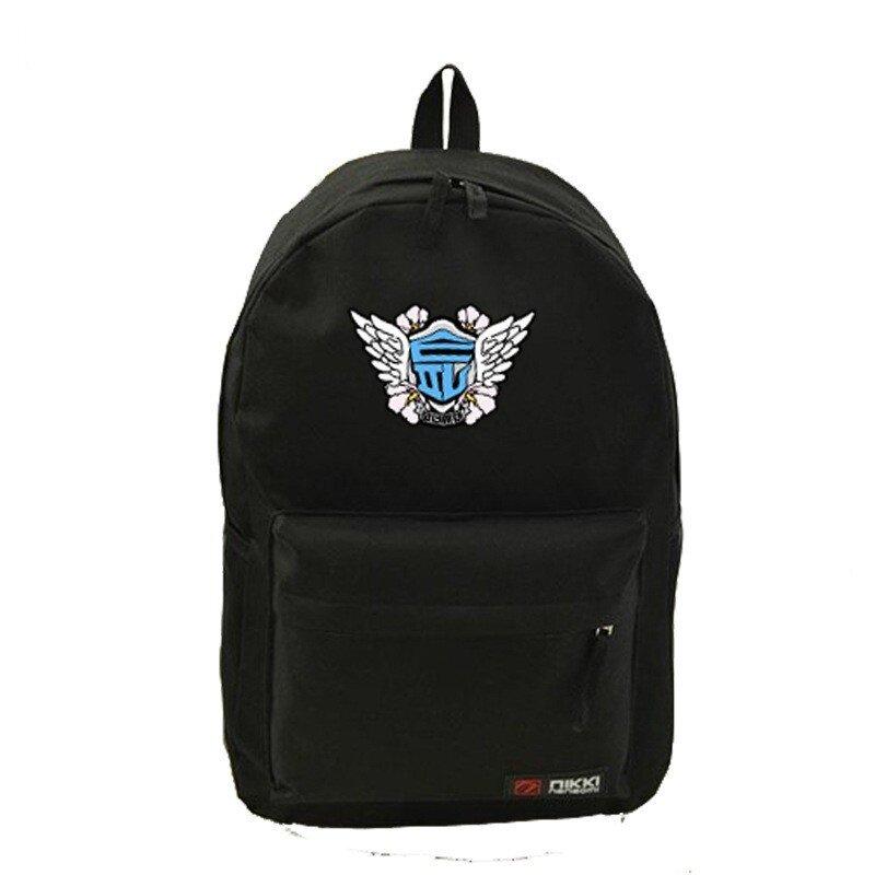 Youpop KPOP Girls Generation SOSI SNSD SONE Album Bag Nylon Package Schoolbag New Fashion Backpack Bags SJB418 (Black) - intl