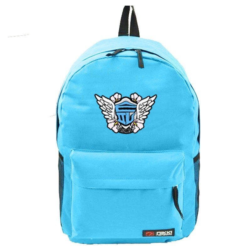 Youpop KPOP Girls Generation SOSI SNSD SONE Album Bag Nylon Package Schoolbag New Fashion Backpack Bags SJB418 (Light Blue) - intl