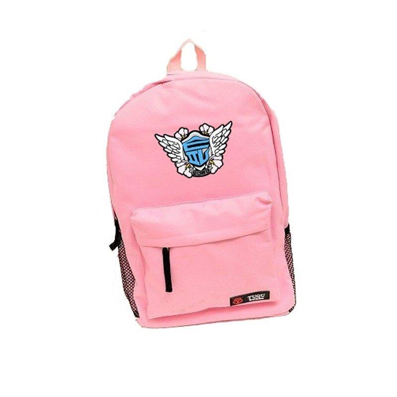 Youpop KPOP Girls Generation SOSI SNSD SONE Album Bag Nylon Package Schoolbag New Fashion Backpack Bags SJB418 (Pink) - intl