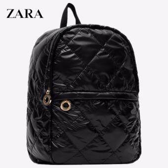 Harga Zara Quilted Backpack (Black)
