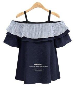 Zashion European Plus Size Collection 7 - Dark Blue