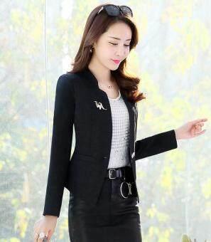 Zashion Premium Office Jacket Cardigan Black