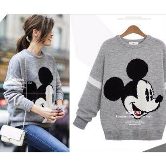 Harga Zashion Winter Sweater Collection 2016-Grey