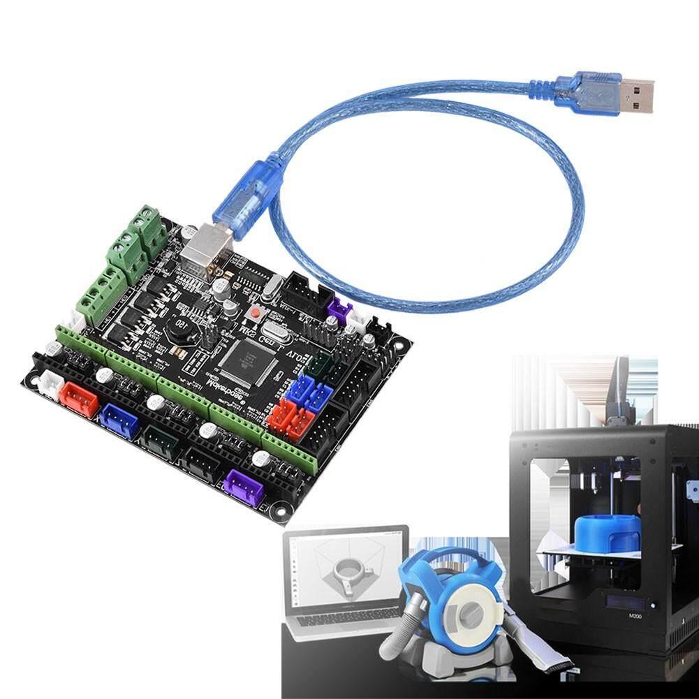 Printers - MKS GEN L V1.0 Controller Board 3D Printer Kit Mainboard Ramps1.4 Dual Extruder
