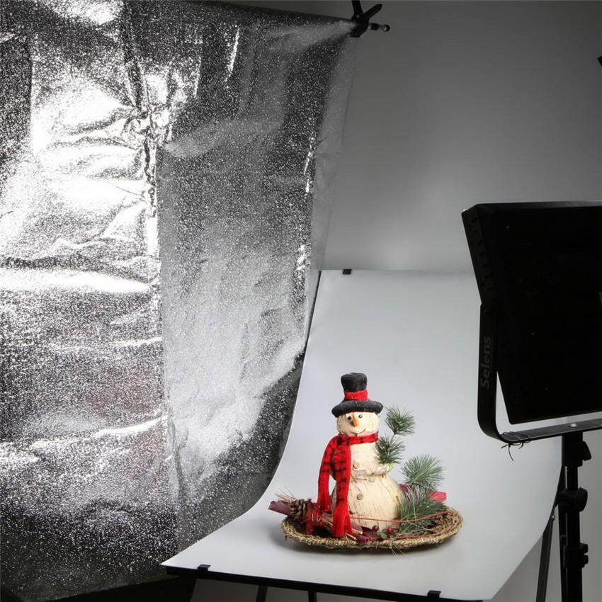 120*100cm Silver Shiny DIY Reflector and Softbox background paper