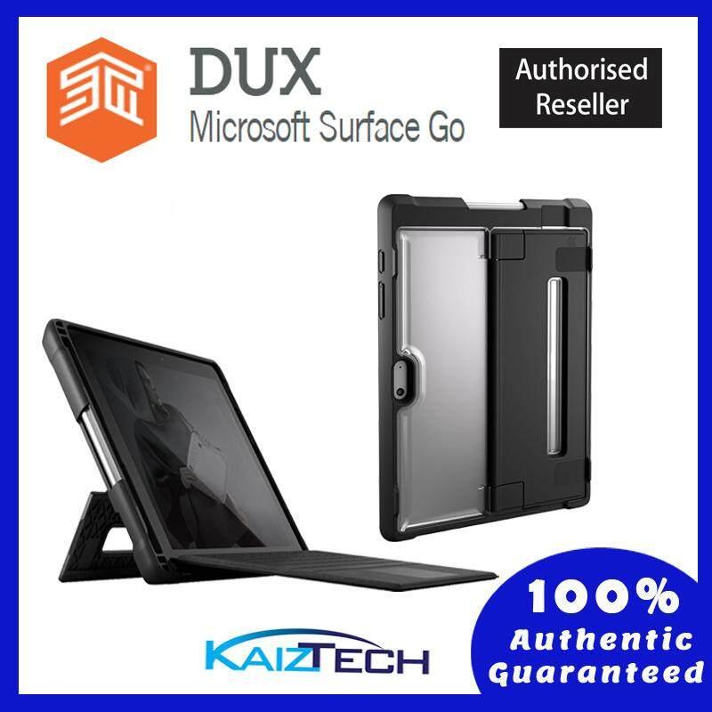 Original STM Dux Rugged Case for Microsoft Surface GO - Black
