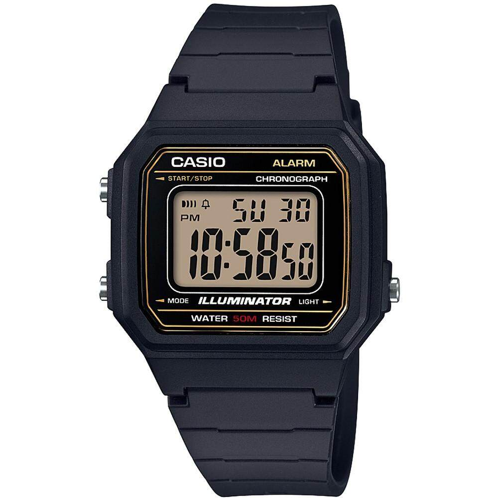 (2 YEARS WARRANTY) CASIO ORIGINAL W-217H YOUTH DIGITAL UNISEX WATCH