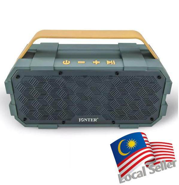 Jonter M90 Wireless Bluetooth Portable Speaker Shockproof Water Resistant IPX5 Rechargeable Robust Rugged Design