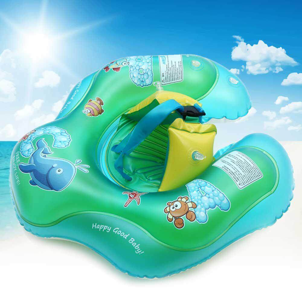 80211095a0 FlyUpward Baby Inflatable Swimming Float Ring For Infant Toddlers ...