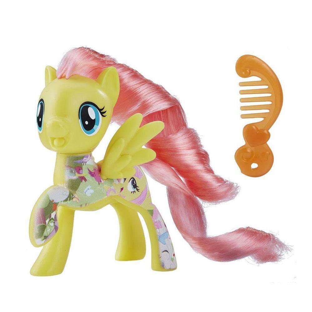 My little Pony -All about fluttershy tourt sur fluttershy figure toy collection(E0993/B8924)