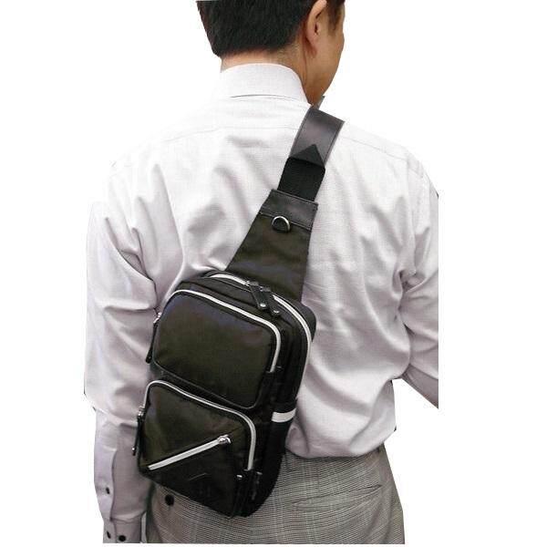 PU Chest Bag Shoulder Fanny Pack Sling Bag