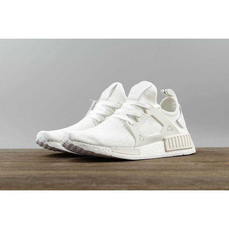 การใช้งาน  ภูเก็ต คลังสินค้าพร้อม ADIDAS NMD XR_1 VINTAGE สีขาวรองเท้าวิ่งสำหรับผู้ชายรองเท้าผ้าใบสตรี