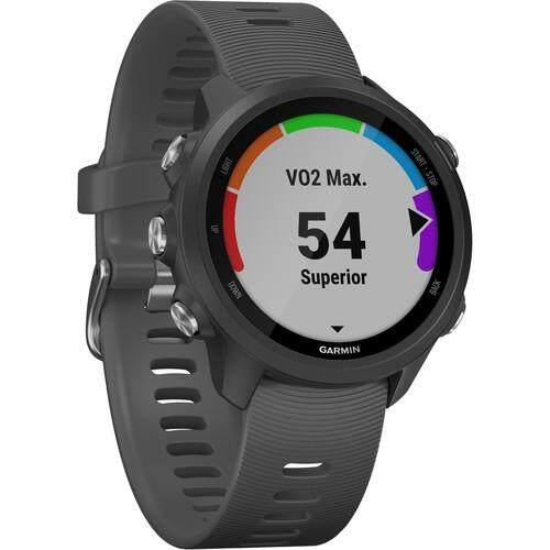 การใช้งาน  สตูล Garmin Forerunner 245 GPS Running Smartwatch - [Slate]