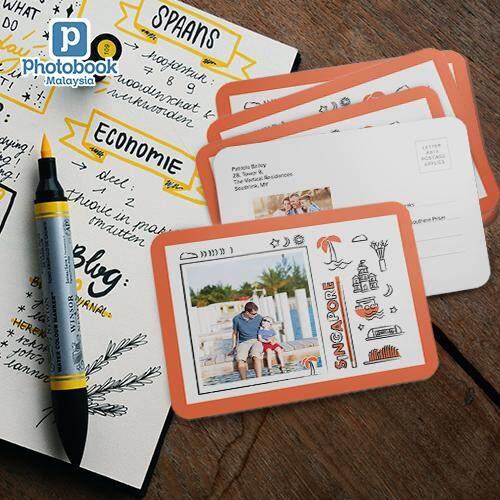 Photobook Malaysia - Postcards - Single Design Rounded Corner (30pcs)