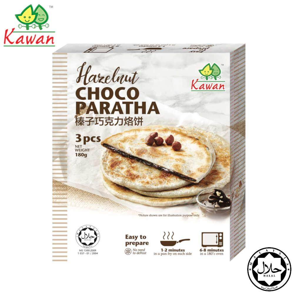 KAWAN Hazelnut Chocolate Paratha (3pcs - 180g)