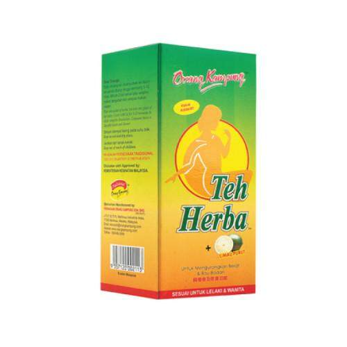 ORANG KAMPUNG HERBAL TEA CITRUS 25 SACHET (DETOX & SLIMMING)