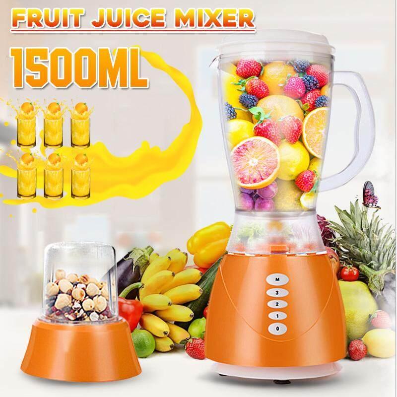 6 ถ้วย 350W 1.5L โภชนาการยี่ห้อแมชชีนน้ำเครื่องปั่นผสมอาหารขวดบด Shaker
