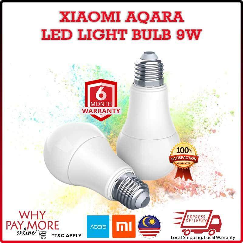 Xiaomi Aqara Smart Lamp 9W E27 2700K-6500K 806lum Smart White Color LED Bulb Light Work with Home Kit and MI Home App