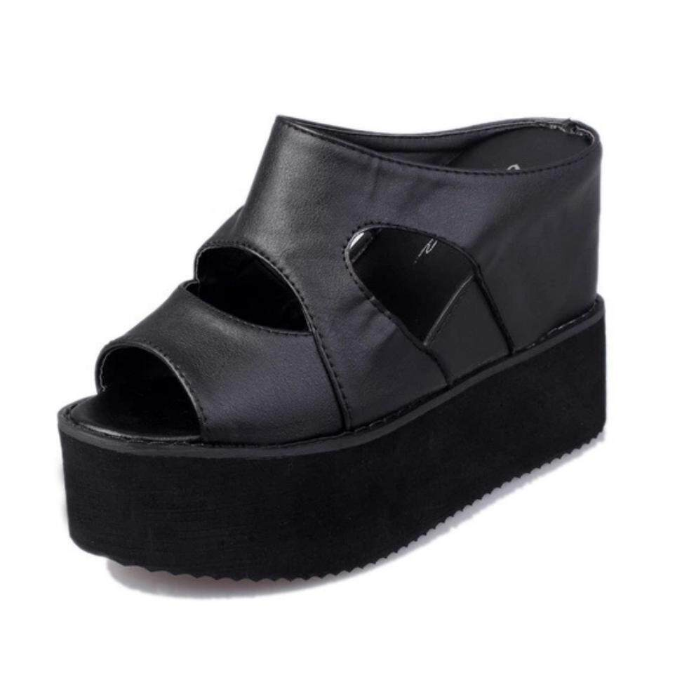MYKUTSU Mia Wedges (Small Cutting)
