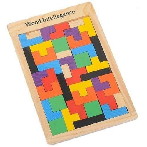 TETRIS BLOCK INTELLIGENCE PUZZLE (COLORMIX)