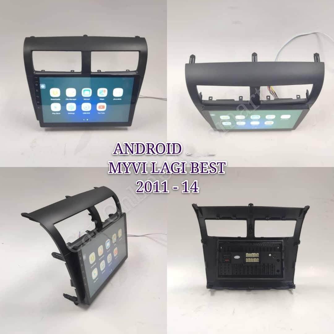 "Perodua Myvi Lagi Best 2011-15 -9.1""  Monitor Car Android 8.1 1GB +16G TV GPS Universal Car Multimedia Head Unit Radio built in GPS Bluetooth WIFI USB AUX Touch Screen"