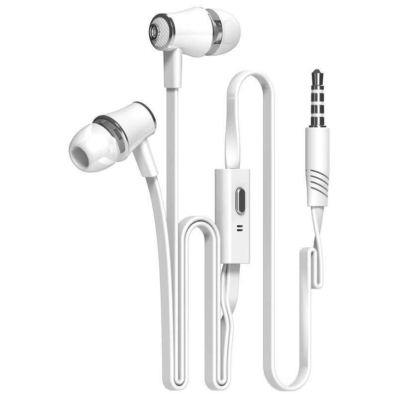 JM21 หูฟังหูฟังสำหรับโทรศัพท์ไอโฟนหัวเหว่ย Xiaomi หูฟังหูฟังมีสายพร้อมไมโครโฟนหูฟังเอียร์บัด fone de ouvido