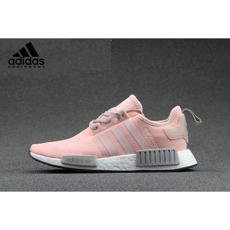 การใช้งาน  เพชรบุรี คลังสินค้าพร้อม100% OriADIDAS NMD ดิบ R1 ผู้หญิงรองเท้าวิ่ง