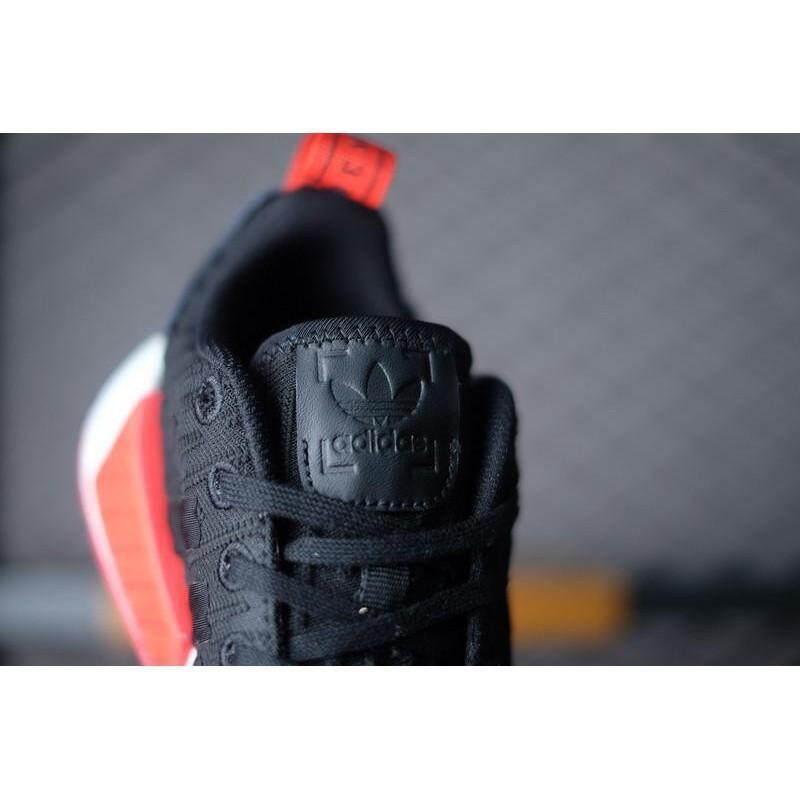 สอนใช้งาน  มหาสารคาม Maopan Original 100% Adidas NMD R2 Primeknit รองเท้าวิ่ง