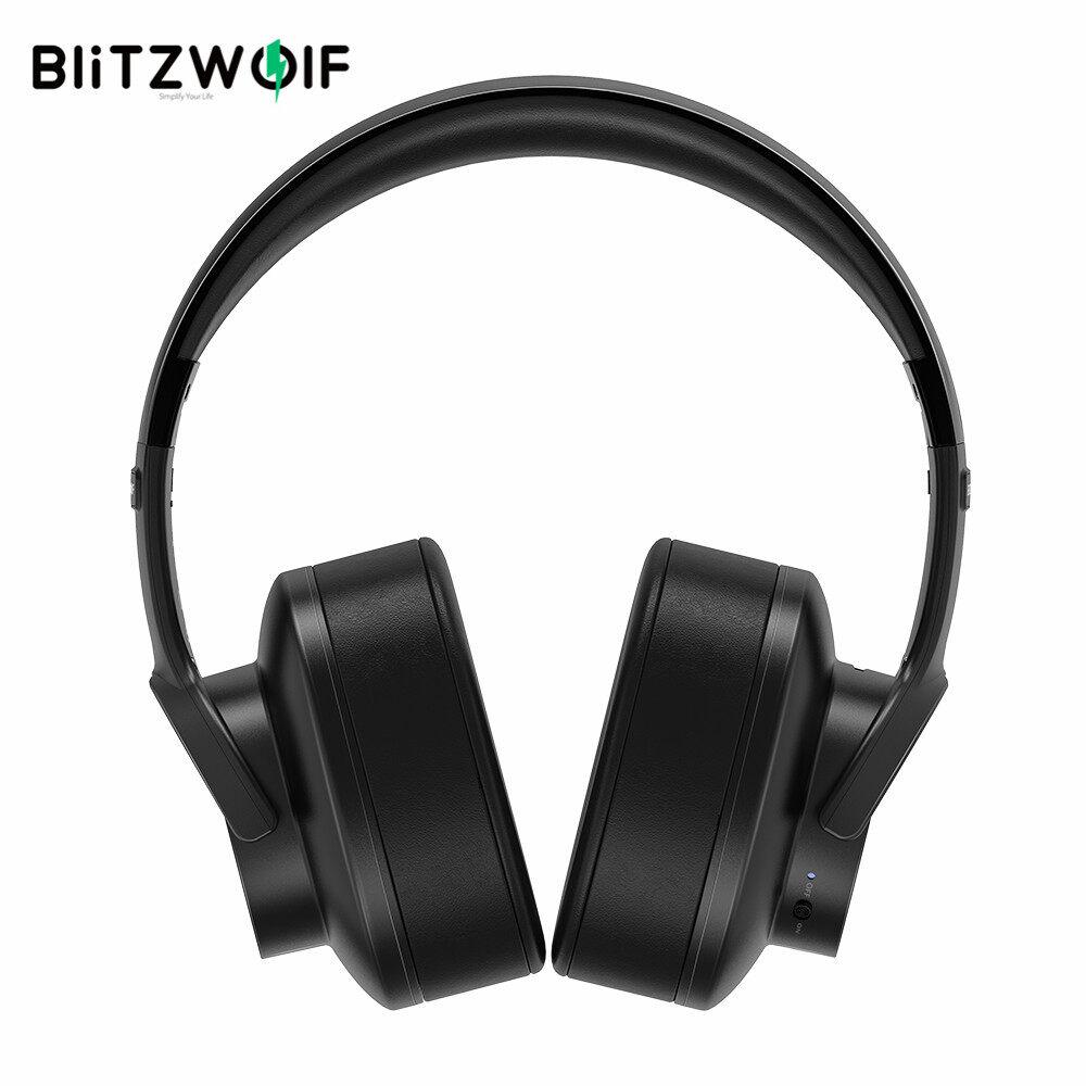 BW-HP2 BlitzWolf Loa Tai Nghe Không Dây Bluetooth 5.0 Điều Khiển Cảm Ứng Mới Nhất