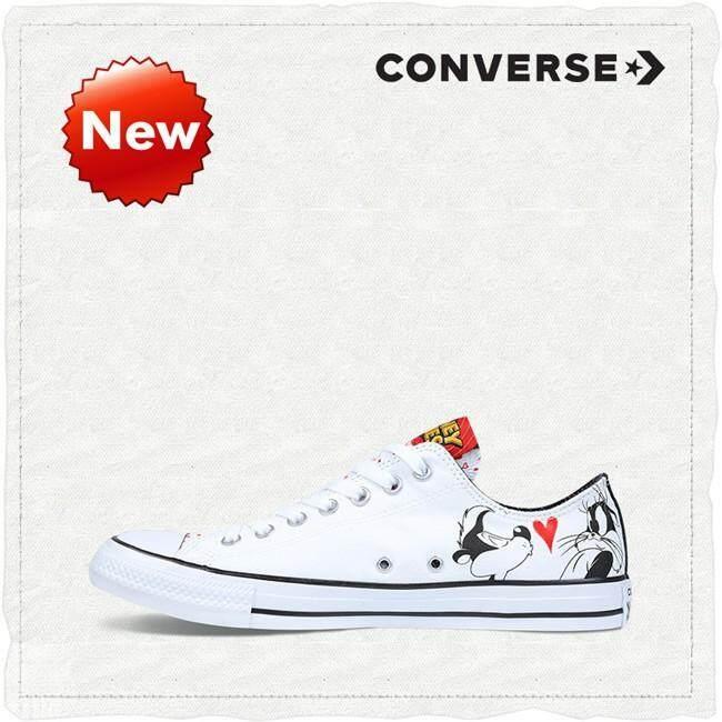 ยี่ห้อนี้ดีไหม  ลำปาง Converse Chuck Taylor All Star Looney Tunes Pepe Le Pew รองเท้าผ้าใบสตรี