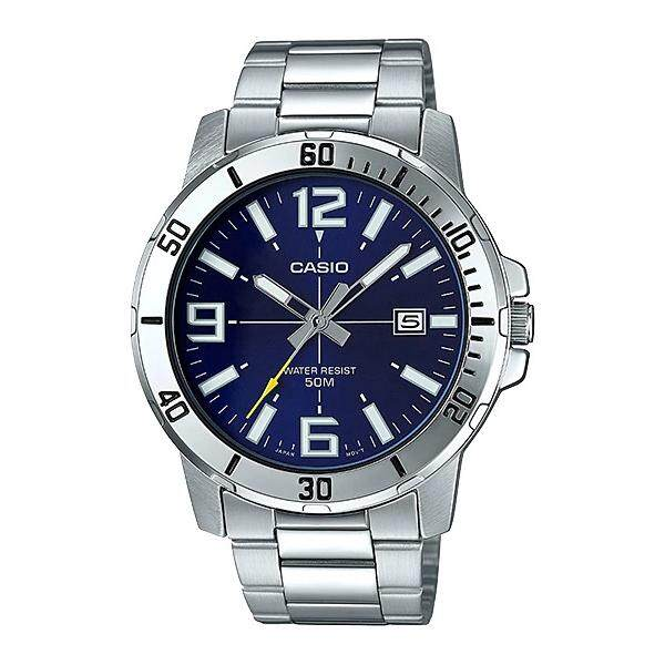 (2 YEARS WARRANTY) Casio Original MTP-VD01D-2BV Dress Analog-Gent's Watch