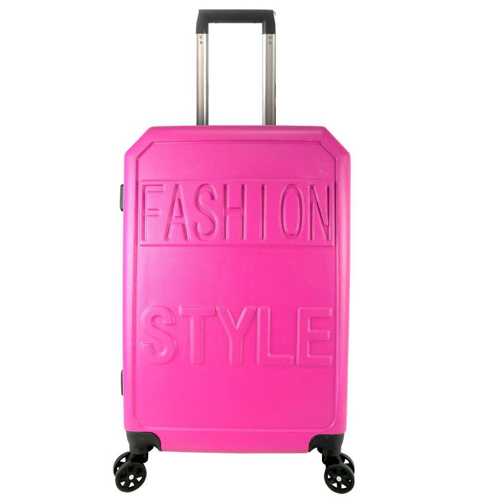 Poly-Pac XA9914 24inch ABS Hard Case Trolley- Pink