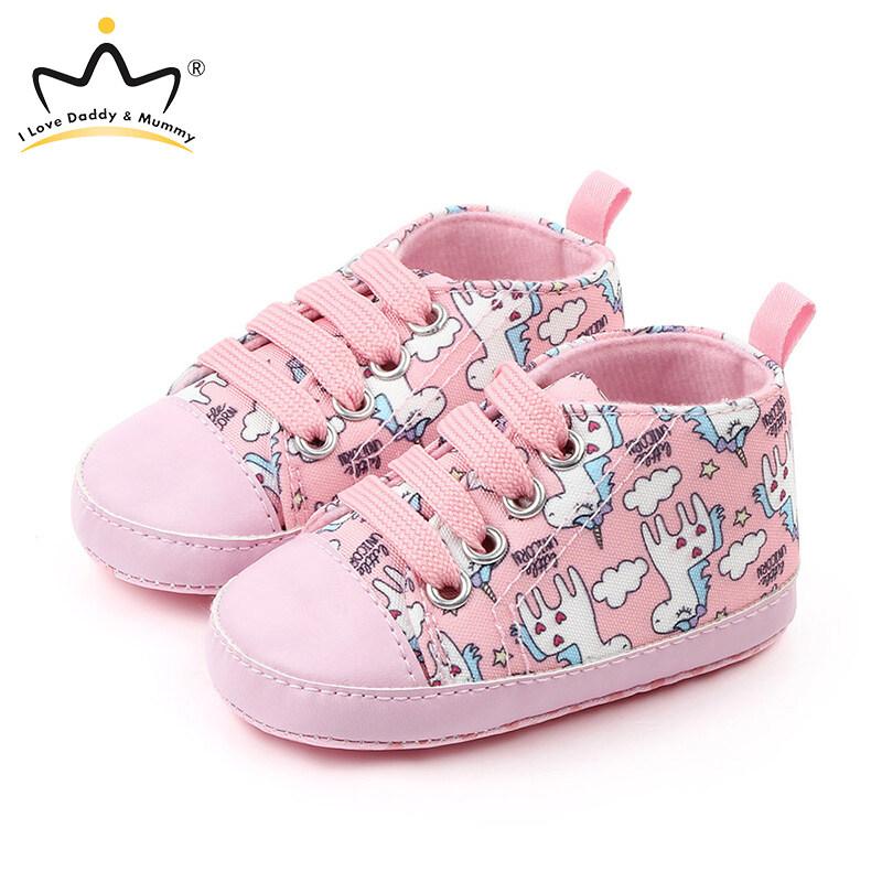 ส่งเร็ว  ลดเยอะที่สุด  ฉันรักพ่อและแม่เด็กรองเท้าผ้าใบน่ารักยูนิคอร์น 0