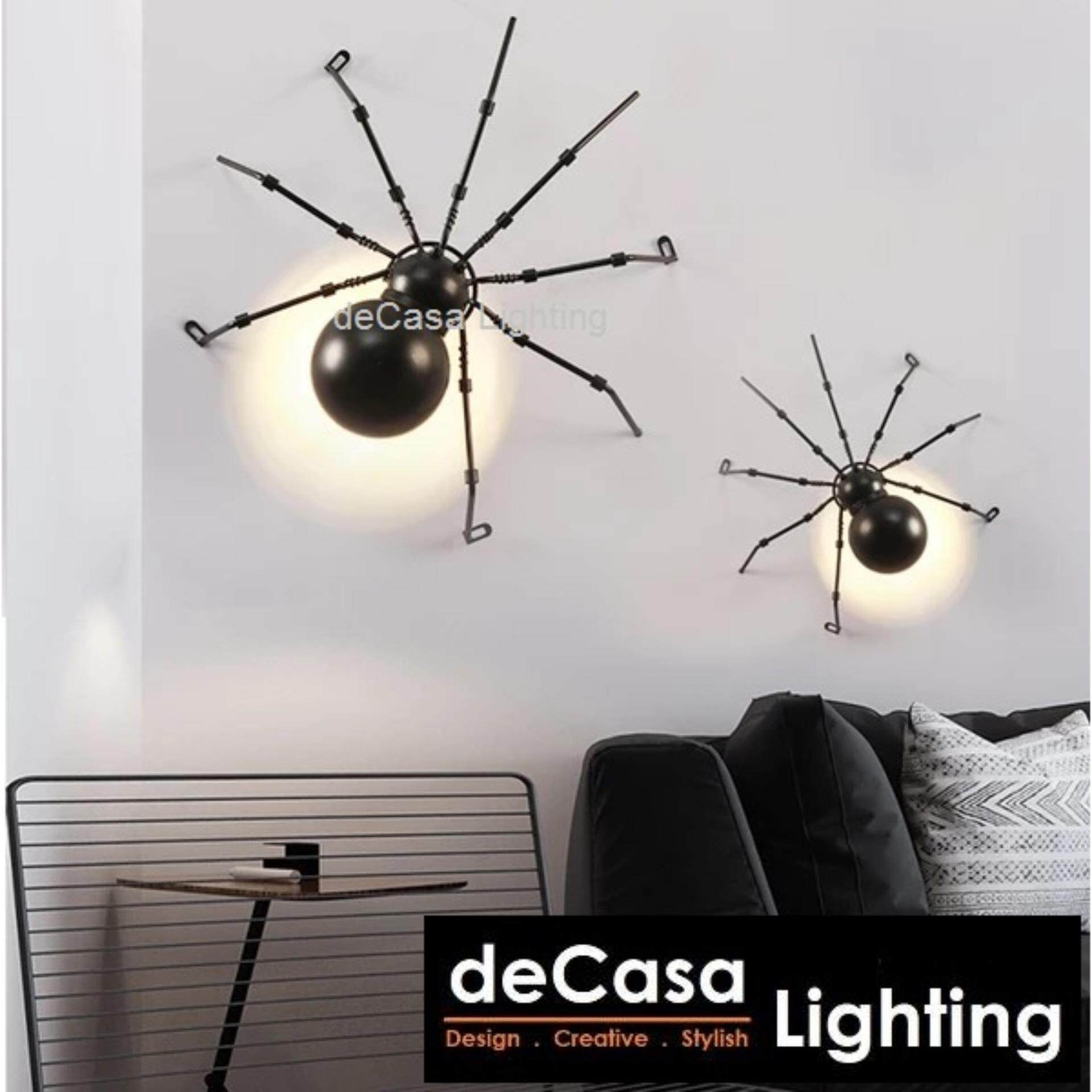 Vintage wall Lamp Loft LED Wall Light Decasa Lighting Spider wall mounted lights Bedroom decorative Lamp home lighting modern wall sconces (FP-SPIDER-WALL-M)