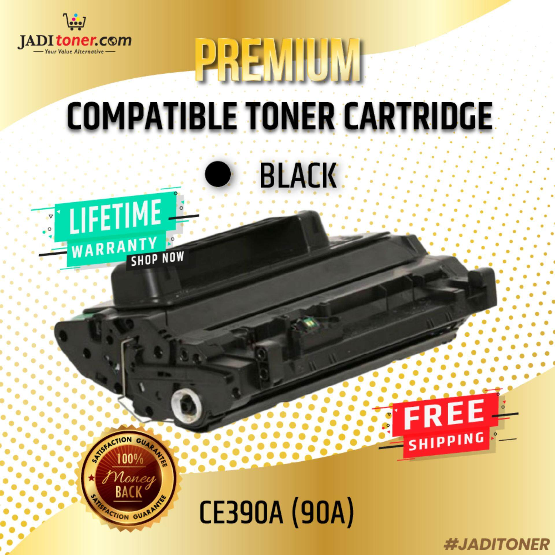 Compatible CE390A (90A) Black Toner Cartridge For Use In HP LaserJet Enteprise M4555h MFP/Enterprise 600/M601/M602/M603