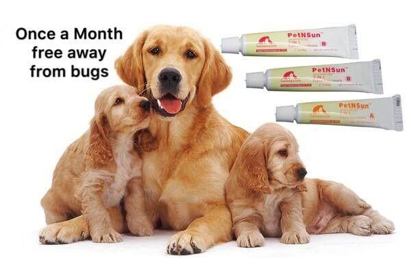 (U.S.A)PetNSun Drops Fleas & Ticks Dogs & Cats (3sticks) -21-50kg