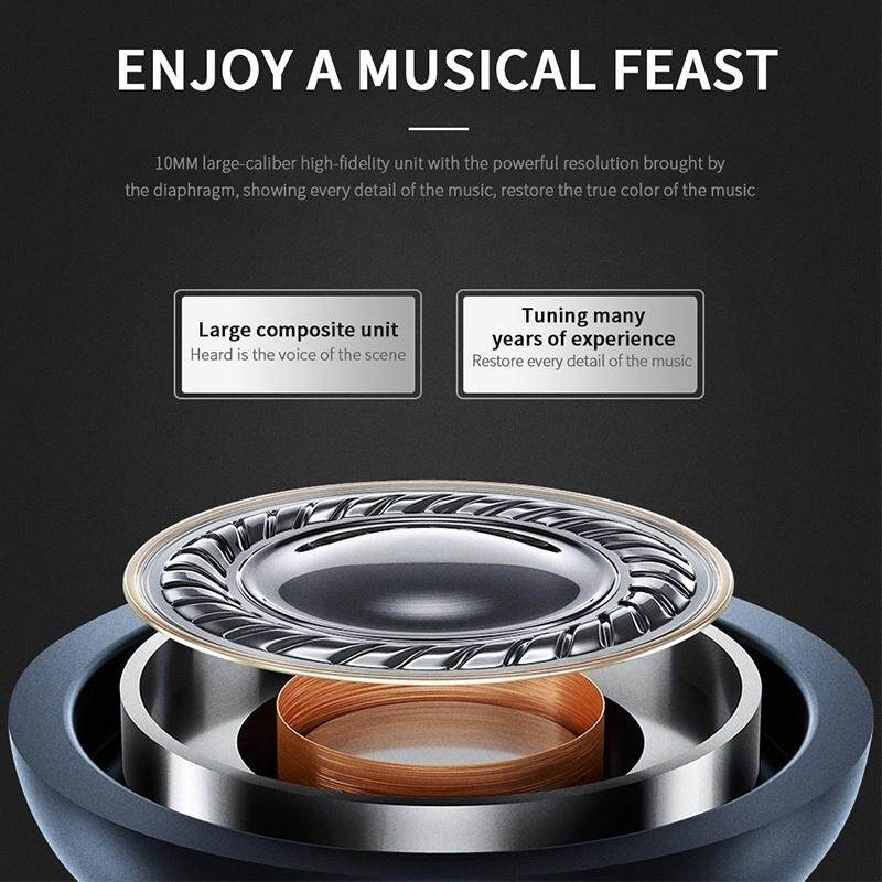Picun P20 HiFi Super Bass WIRELESS BLUETOOTH Headphone Head SET Noise Cancelling - BLACK RED / WHITE / BLACK
