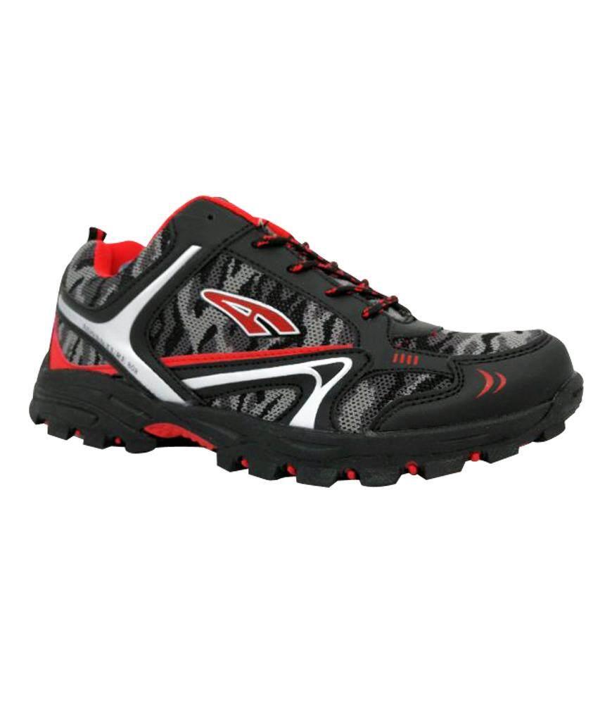 Ambros Men's Adventure 808 Hiking Shoes - Grey/Black