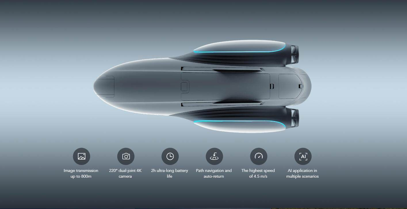 PowerVision Power Dolphin Wizard Intelligent Water Drone (Pre-Order)