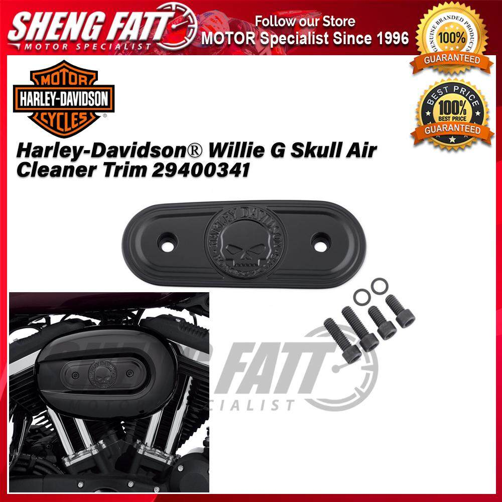 Harley-Davidson® Willie G Skull Air Cleaner Trim 29400341 - [ORIGINAL]